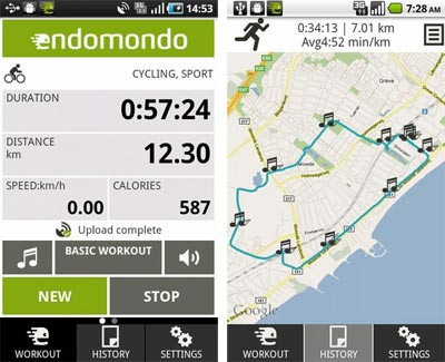 Endomondo-Android