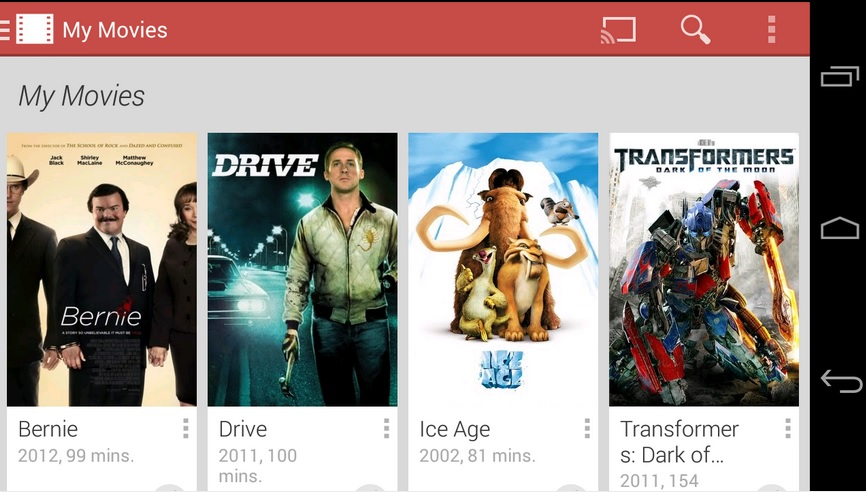 Google Play Movies&TV, źródło: play.google.com
