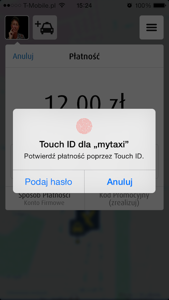 mytaxi Touch ID_1