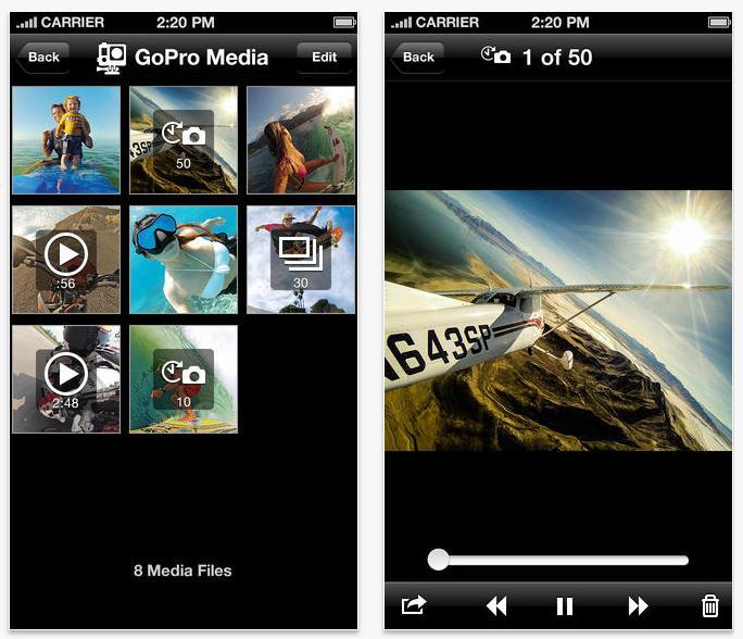 fot. itunes.apple.com/us/app/gopro-app