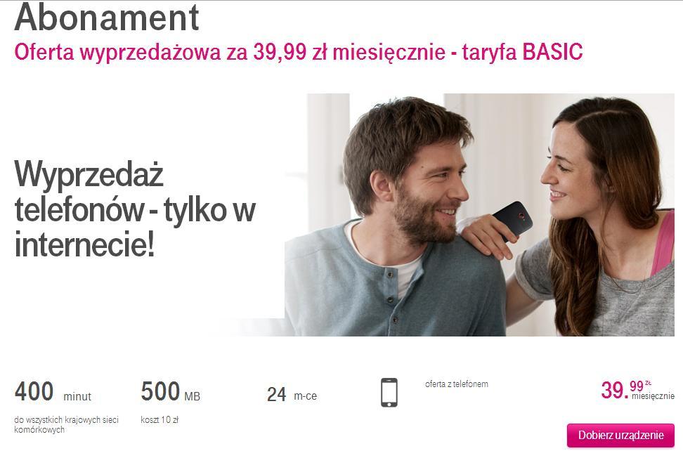 fot. t-mobile.pl/oferta/abonament/