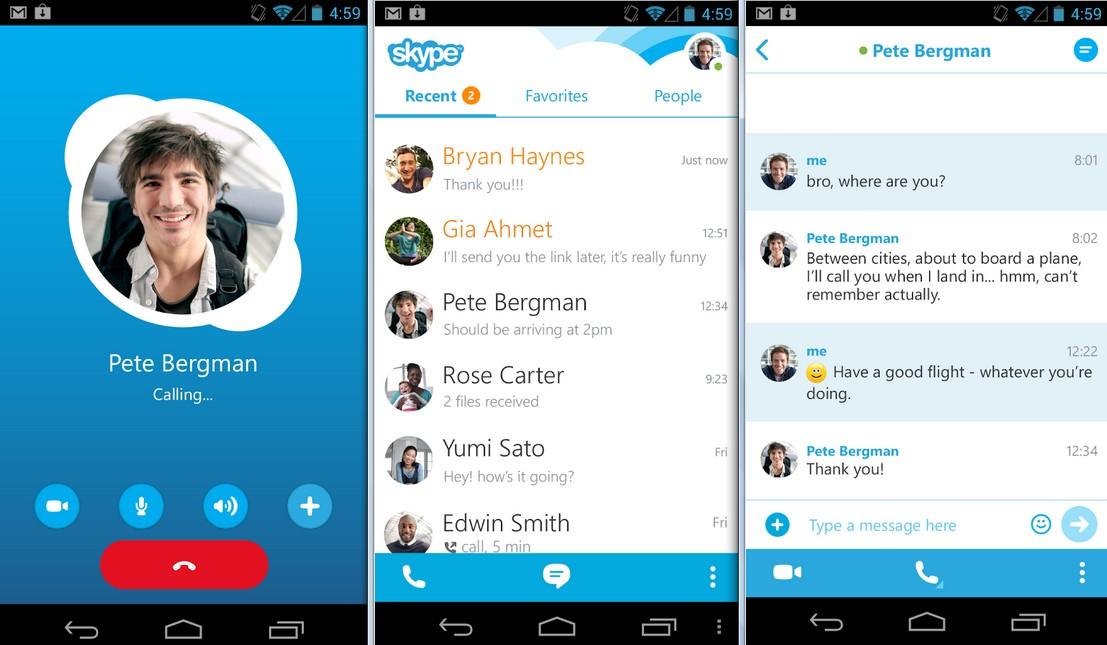 Skype (fot. google.play.com)