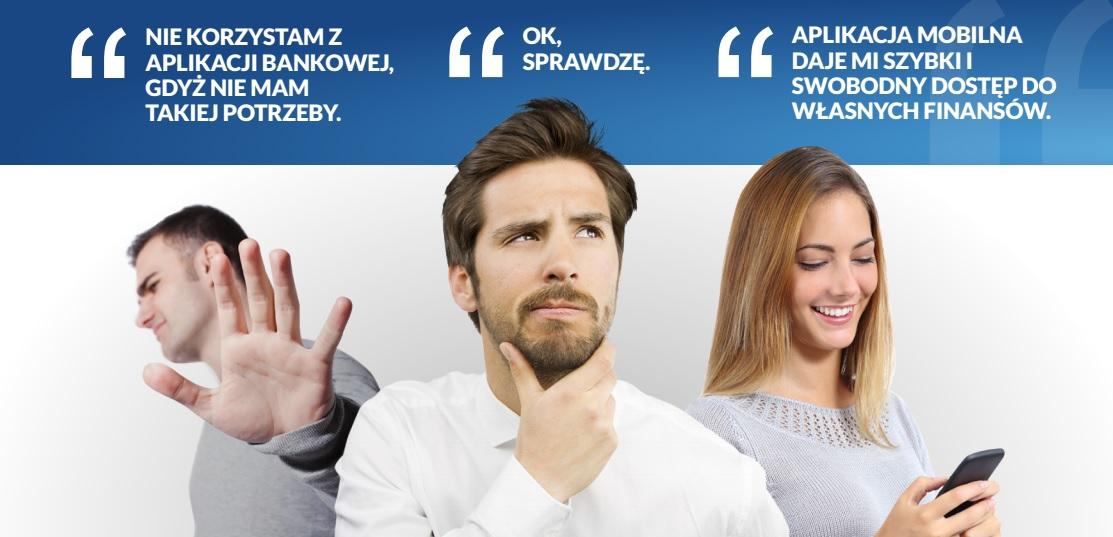 Czy warto korzystać z aplikacji mobilnych? źródło: raport Symetria