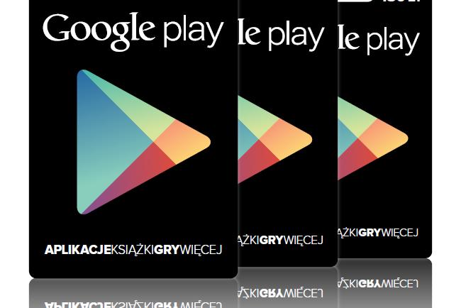 Prezent Dla Mobilnego Maniaka Karta Upominkowa Google Play