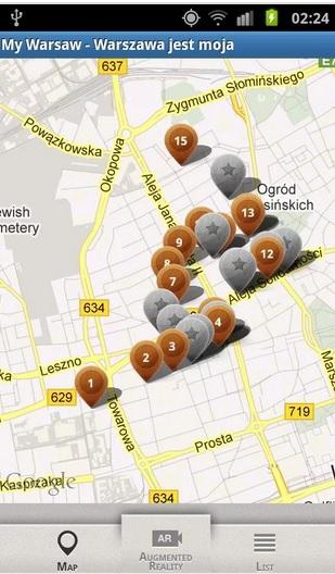 My Warsaw: Warszawa jest moja, źródło: play.google.com
