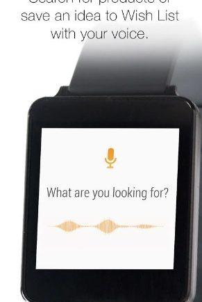 Zakupy na Amazonie z Android Wear, źródło: play.google.com