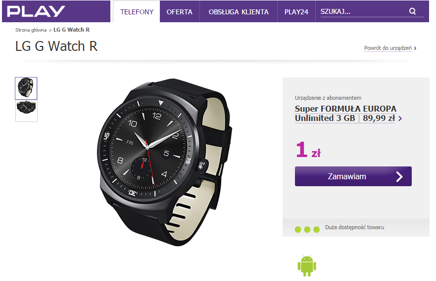 fot. play.pl/telefony/lg-g-watch-r/?ESId=SMP_FOR3GB_EU