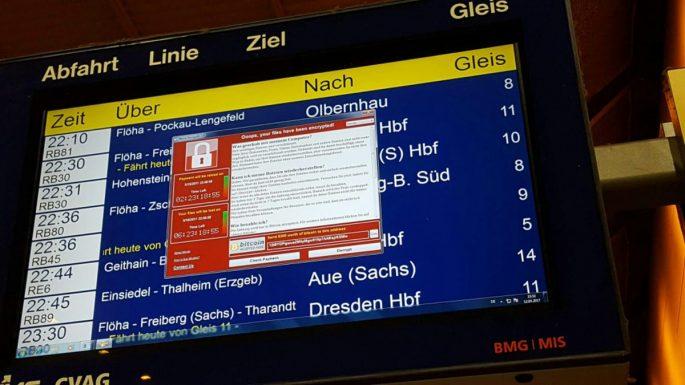 Zainfekowane systemy na kolei. Fot.niebezpiecznik.p