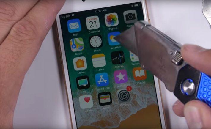 iPhone 8 - test wytrzymalosci - Zack Nelson