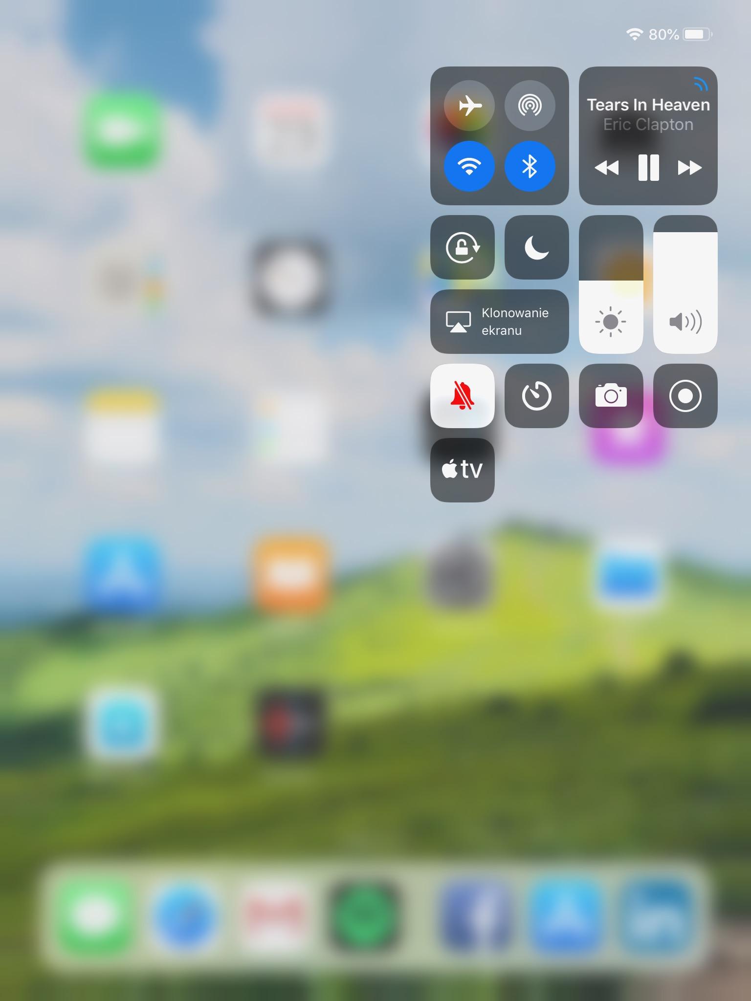Centrum Sterowania iOS12 iPad - 02