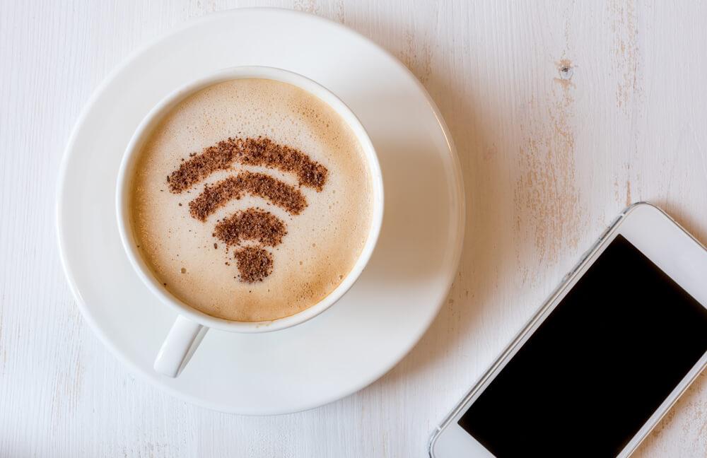 Kawa z wifi