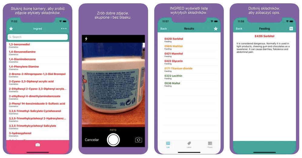 aplikacja Ingred